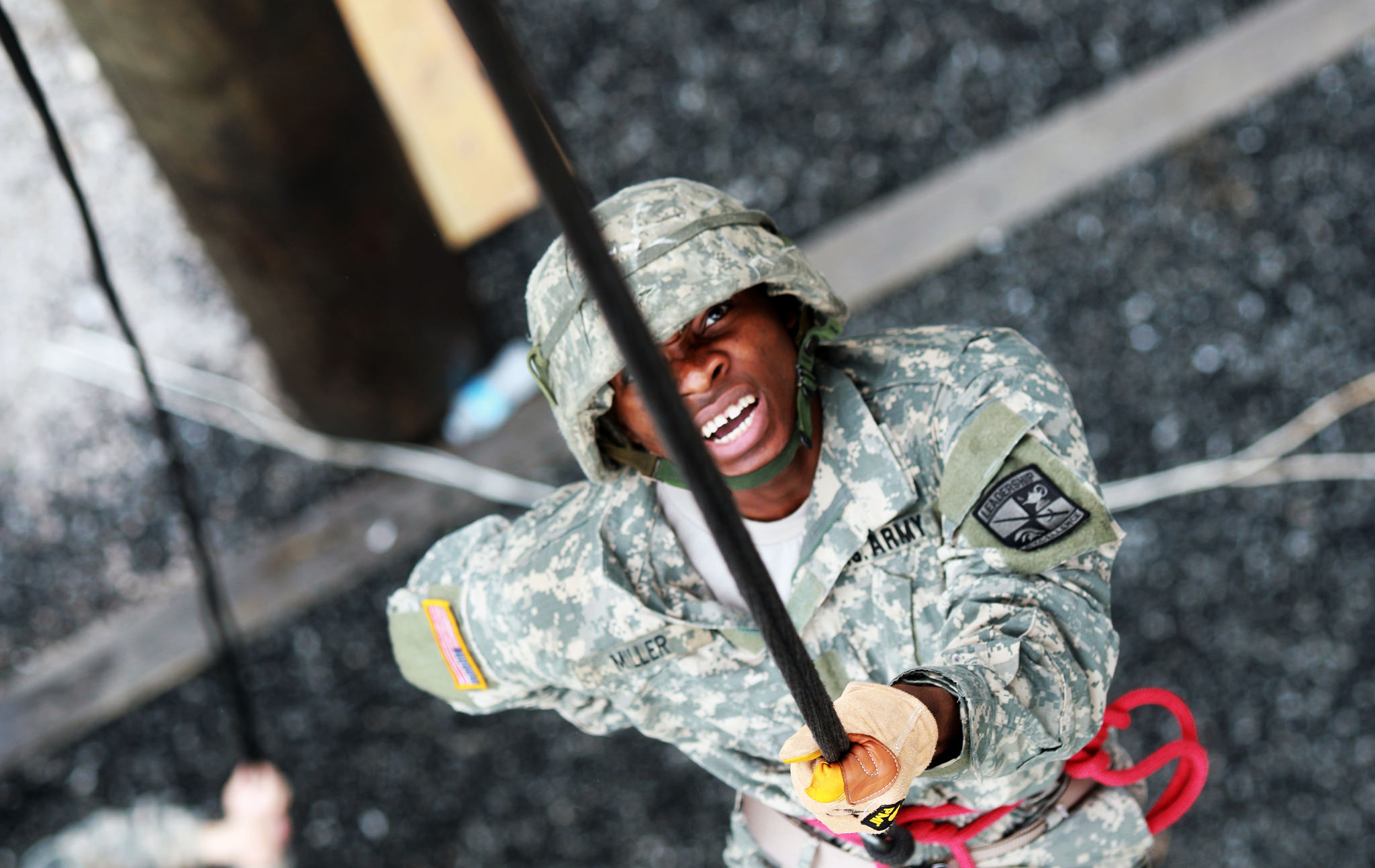Rappel Tower teaches cadets valuable skills for future endeavors