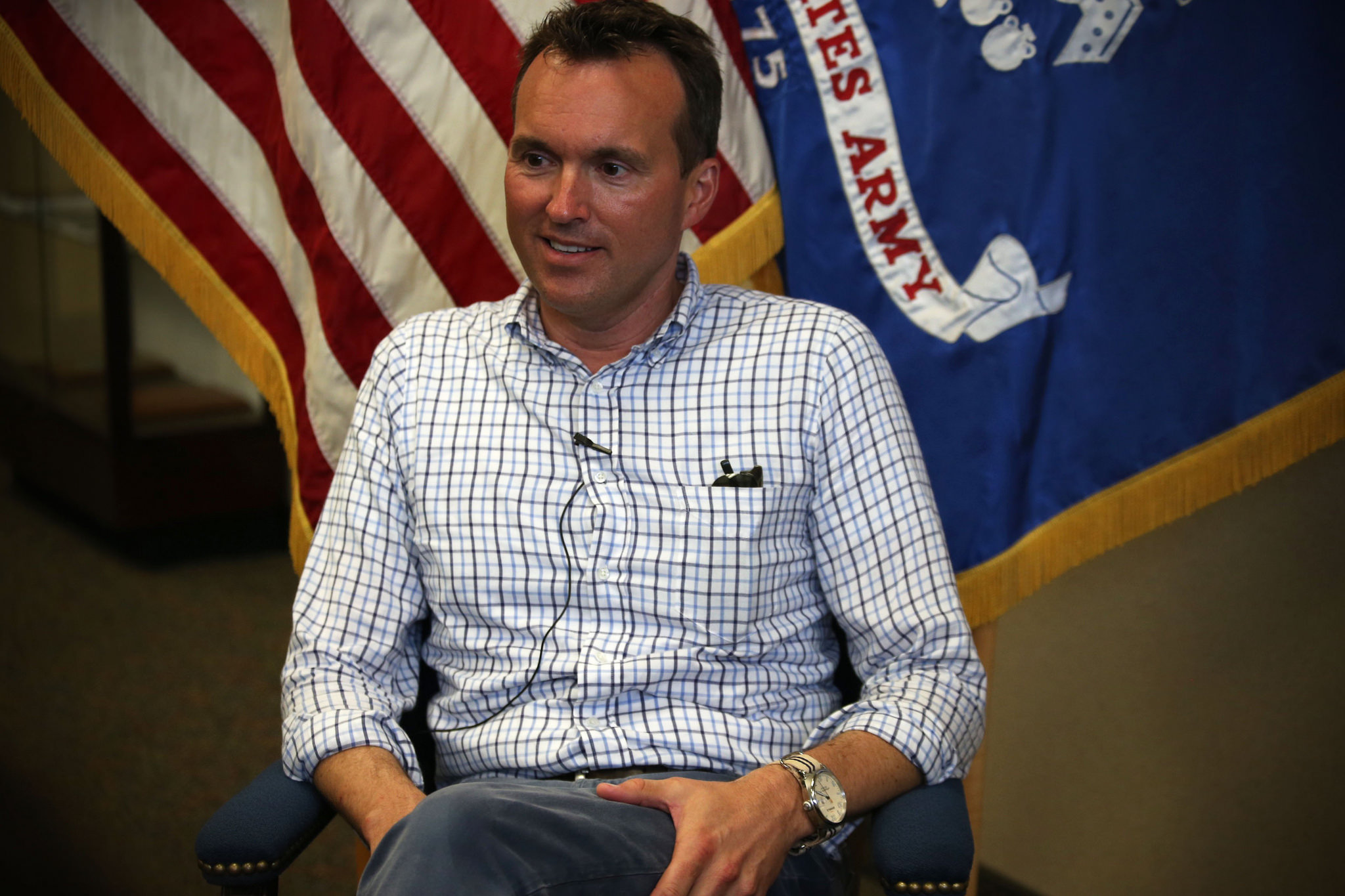 Secretary of the Army, Eric Fanning Visits Cadet Summer Training (CST) at Fort Knox, Ky.