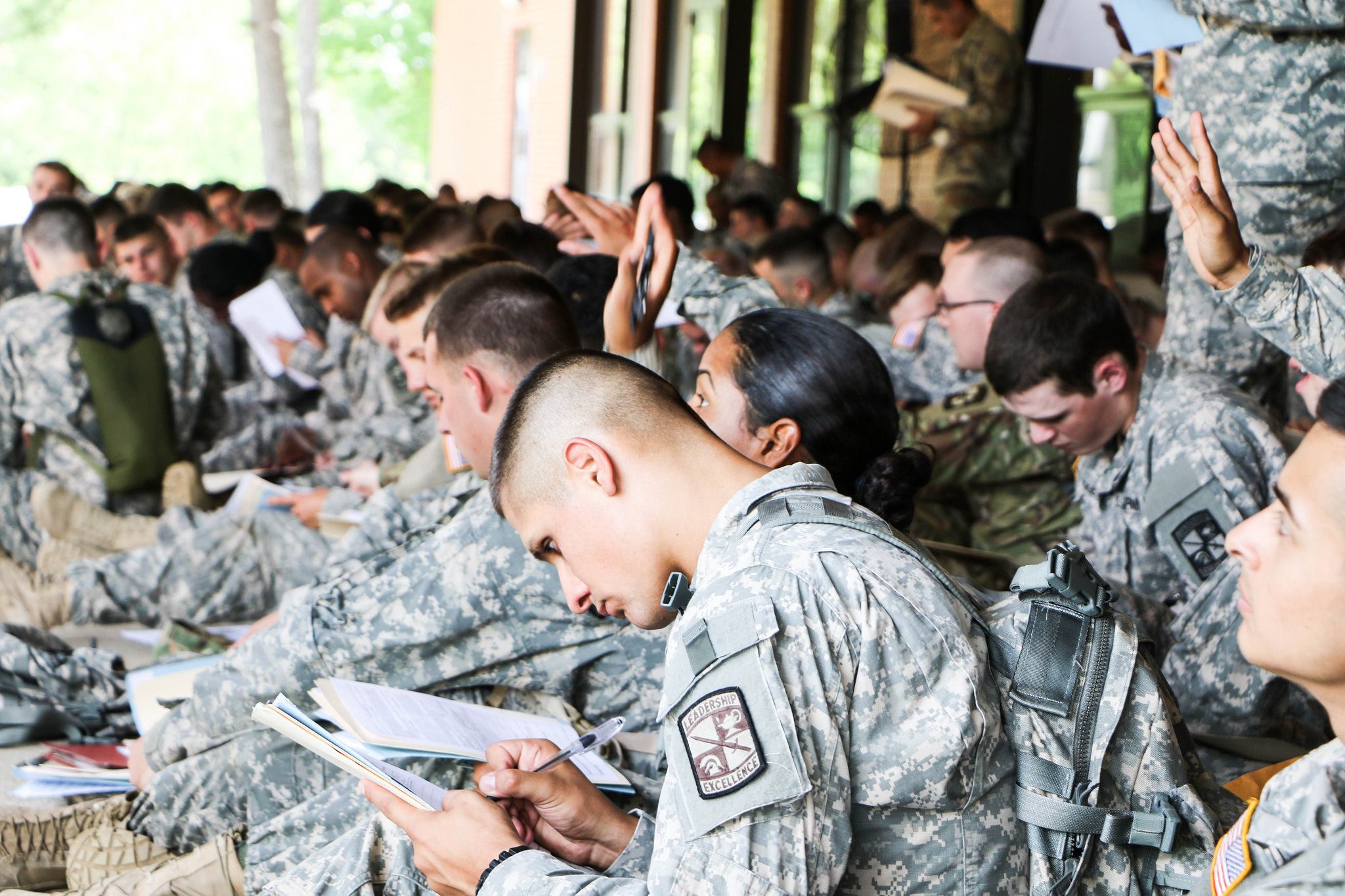 Cadets arrive at in-processing; Reflect on preparation for CST