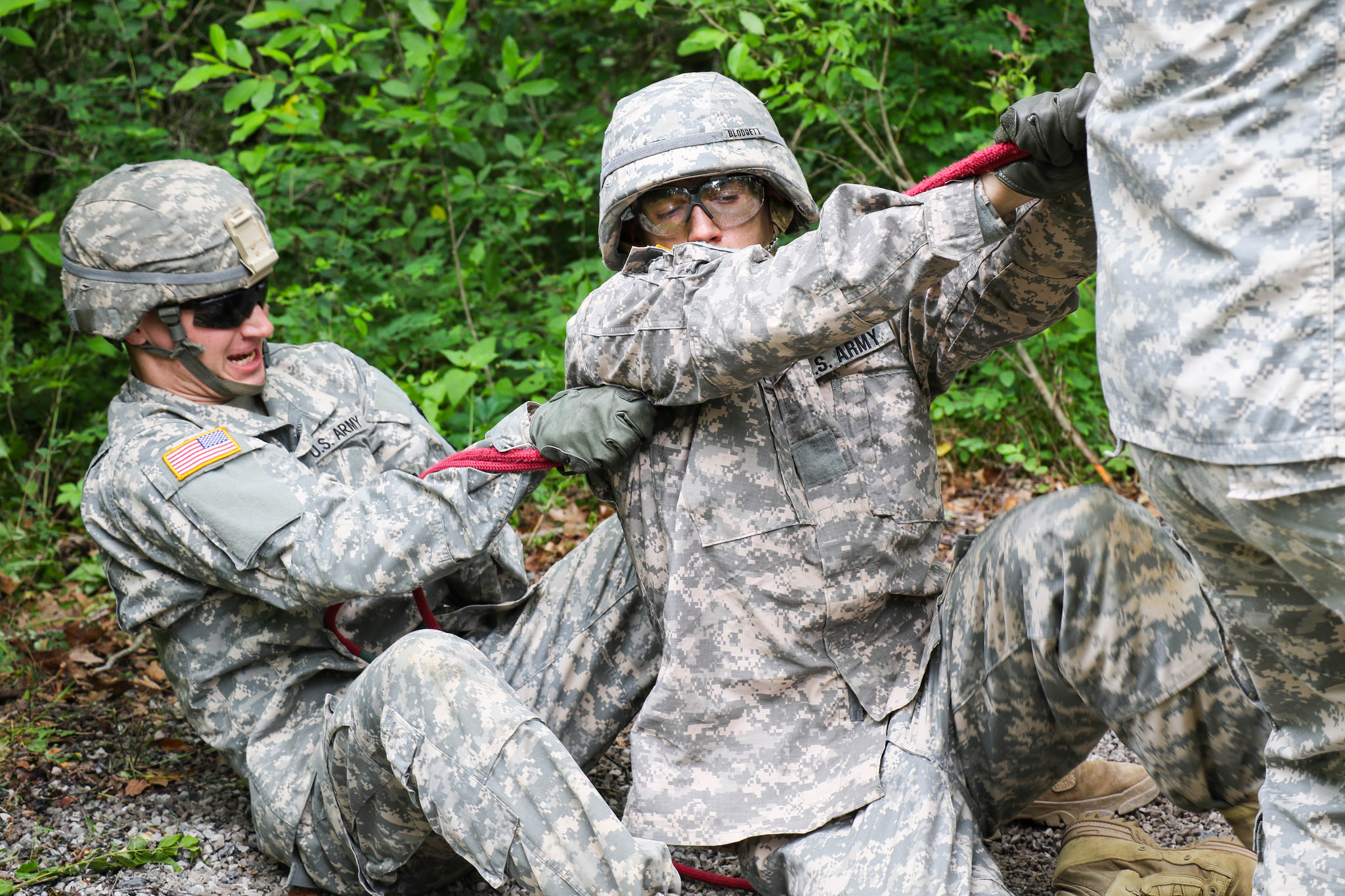 Advanced Camp Cadets hone leadership skills at FLRC