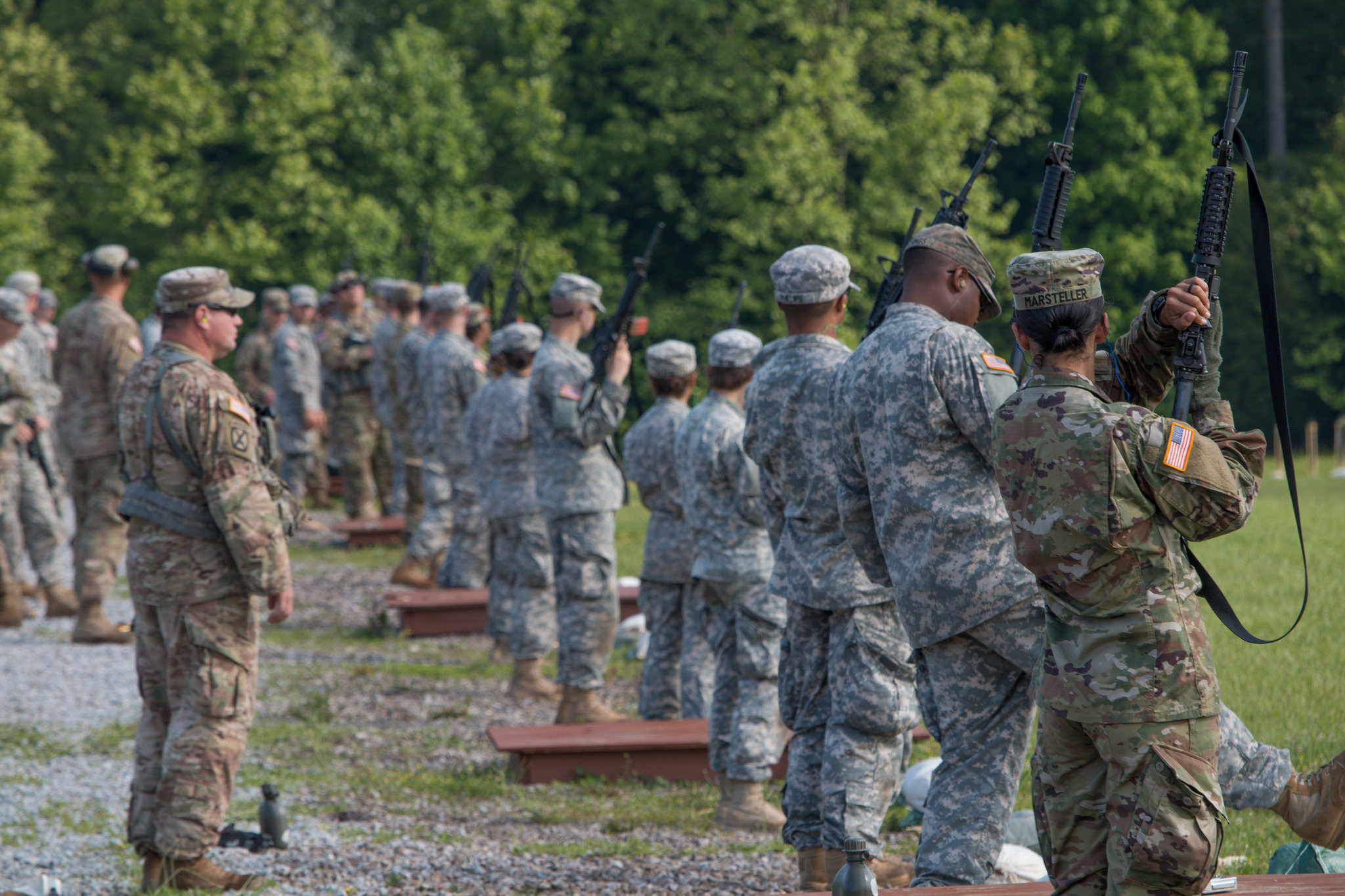 Basic Rifle Marksmanship: Cadets Get Familiar with Their Weapons