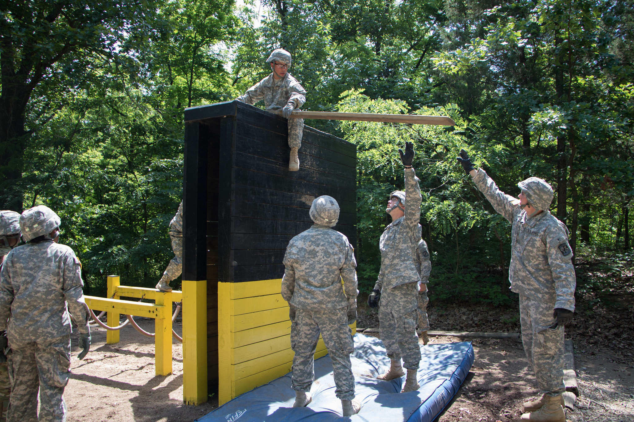 Teamwork Makes the Dream Work: Cadets Complete Team Development Course