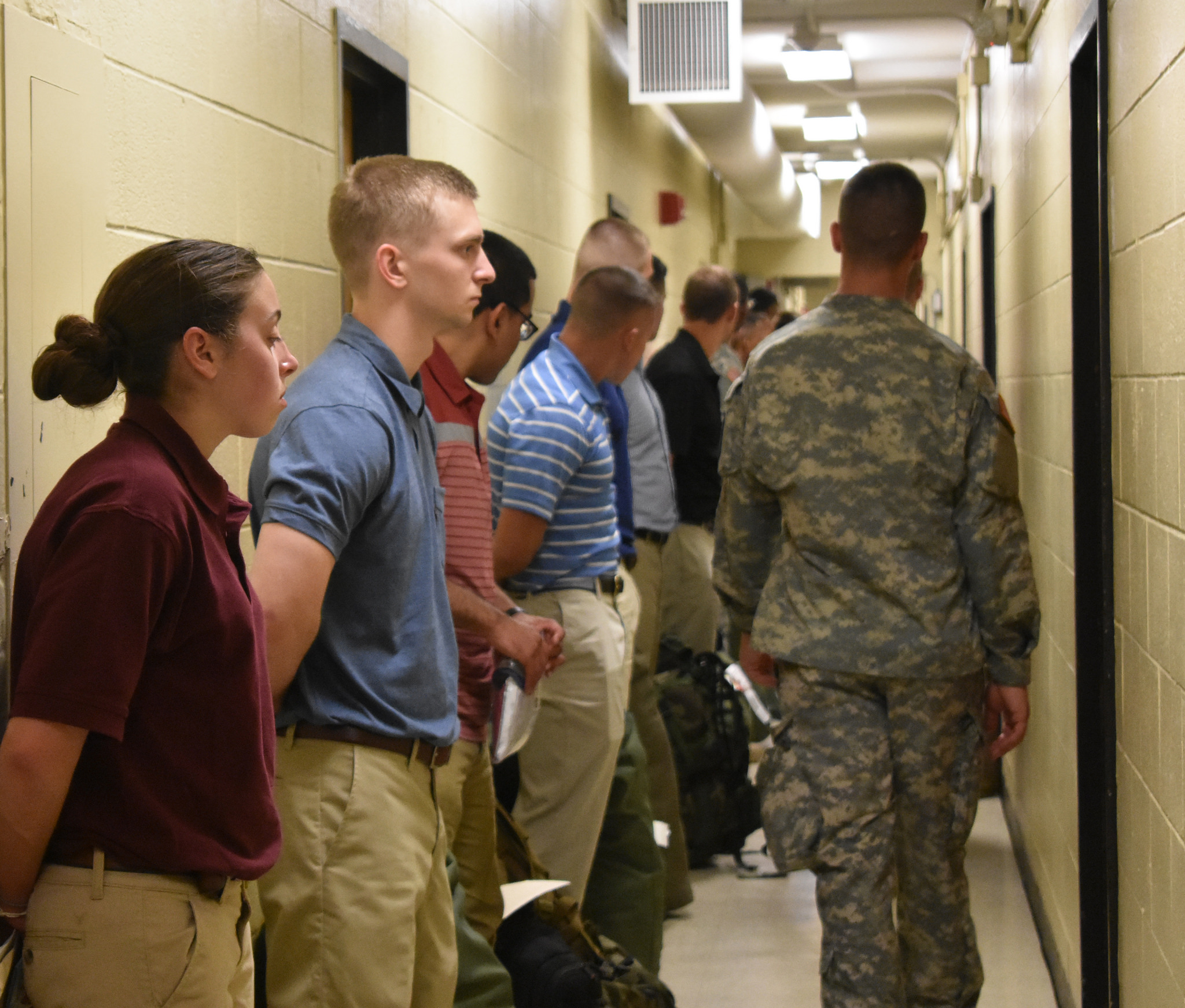 Basic Camp 3rd regiment arrives, Cadets anxious to begin training