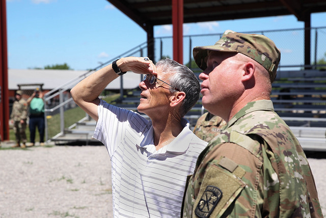 Acting Secretary of the Army Visits Fort Knox