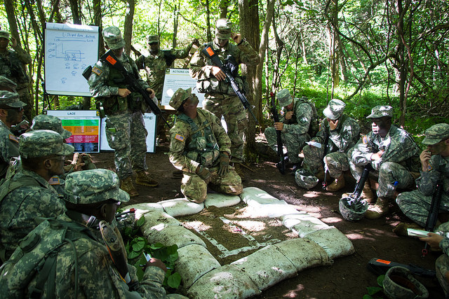 Drills prepare Cadets for battle