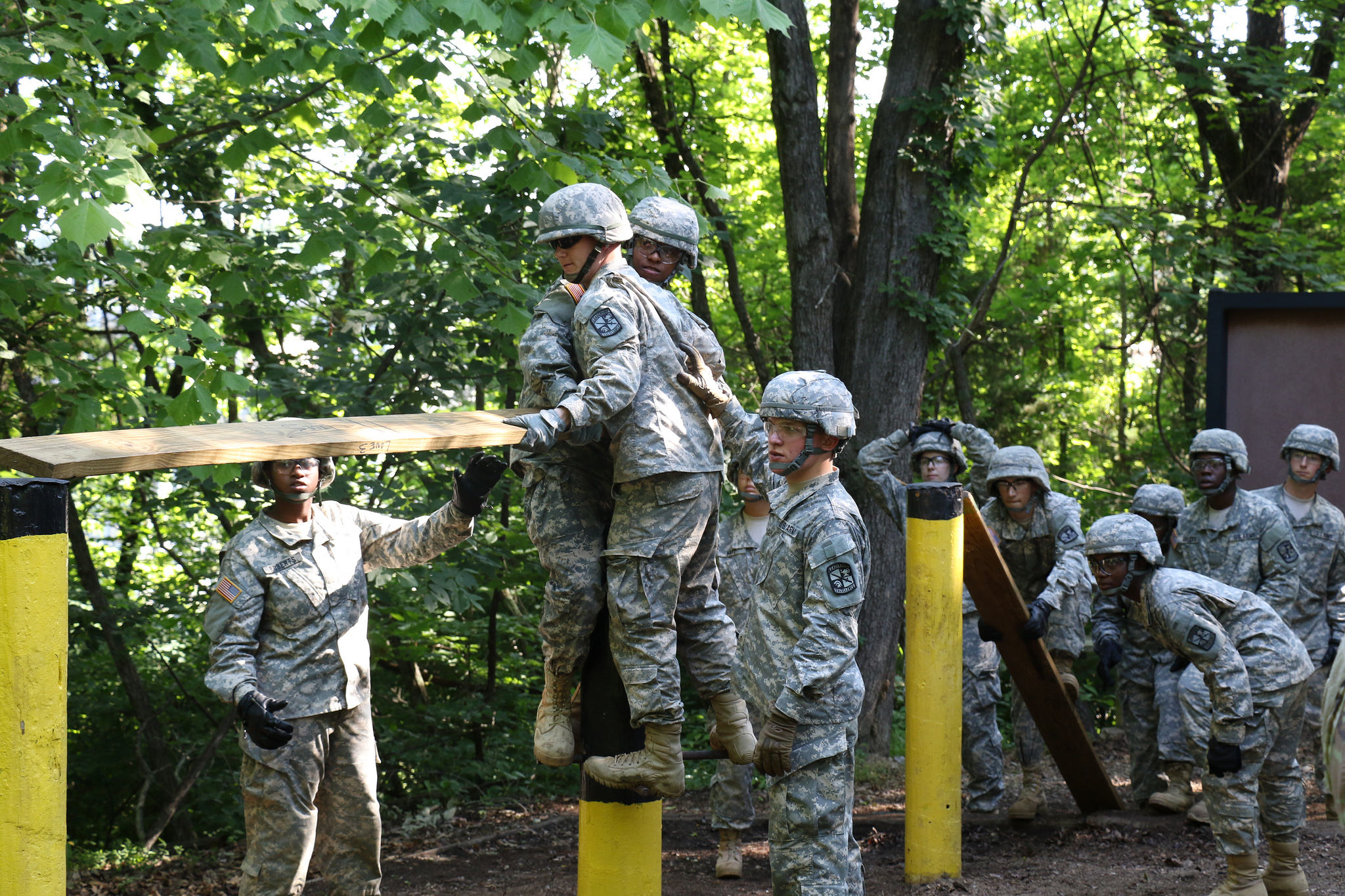 3rd Regiment, Basic Camp: Learning the Meaning of Team Work