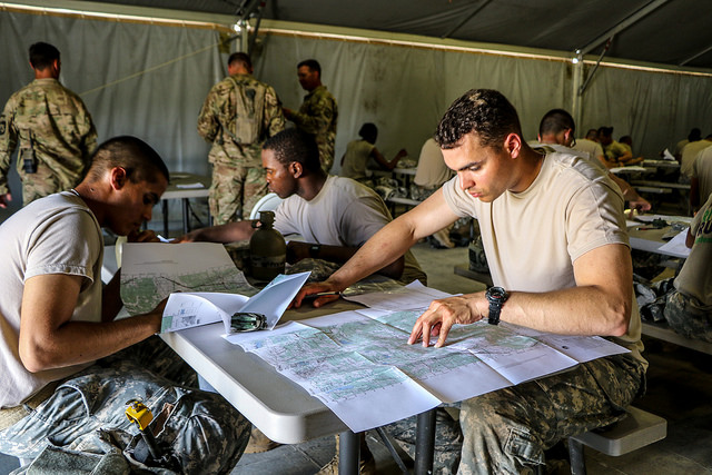 Map Reading is vital to Soldiers life