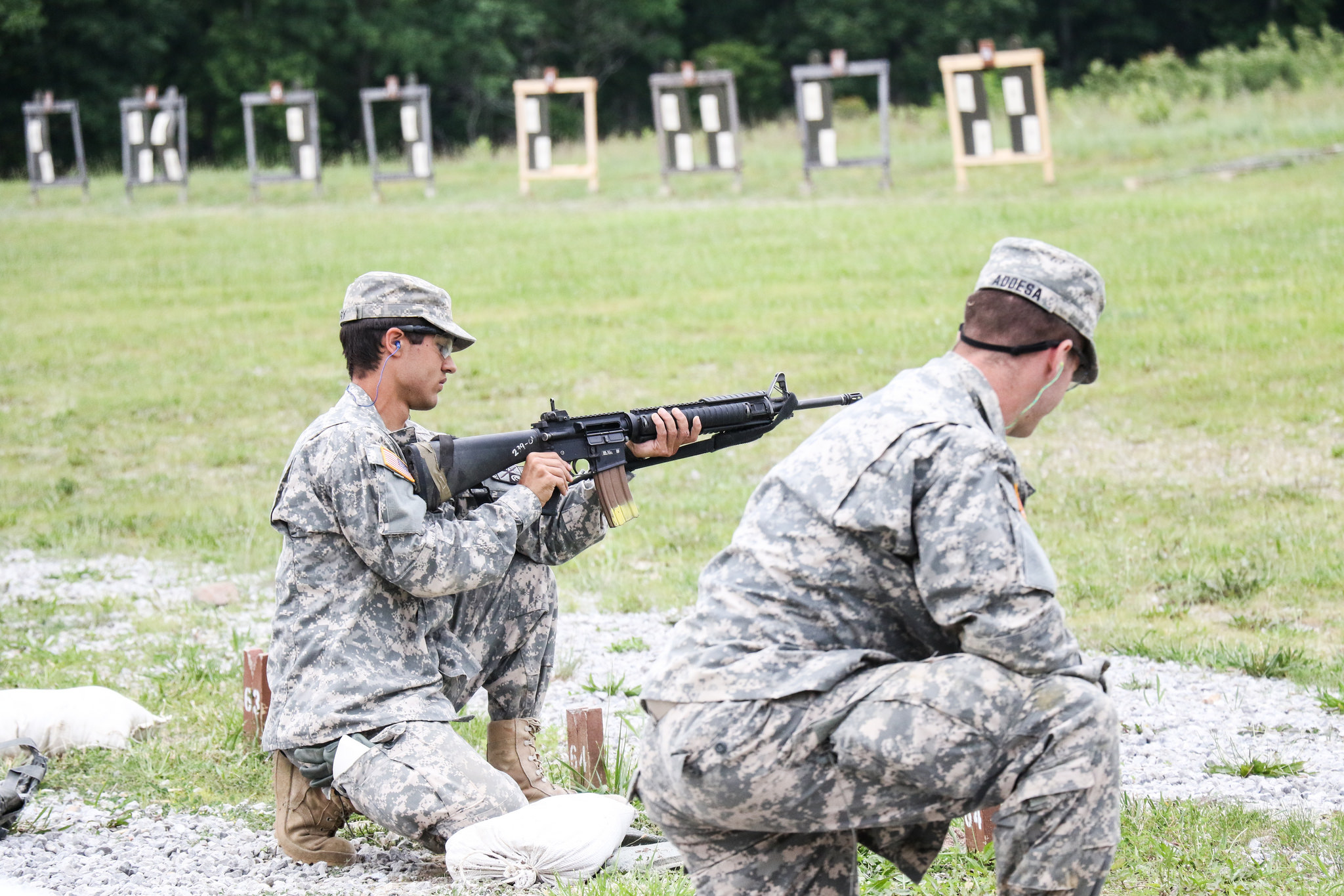 Cadets qualify with rifle, pursue Recondo Badge