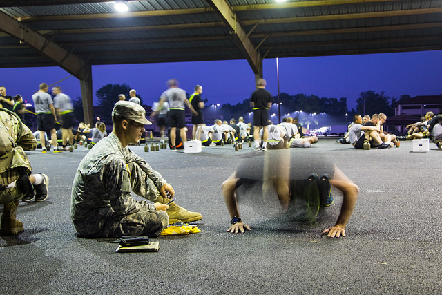 The key to APFT, pace yourself