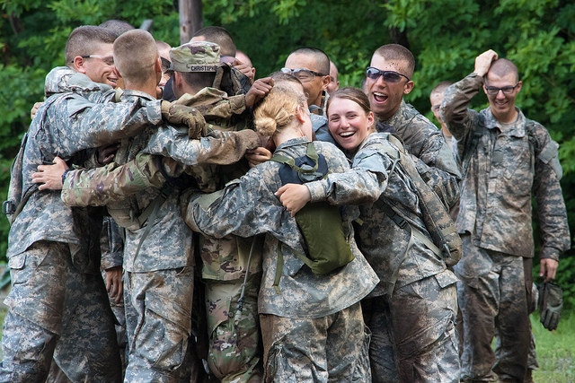 Basic Camp trainer completes time as Advanced Camp Cadet