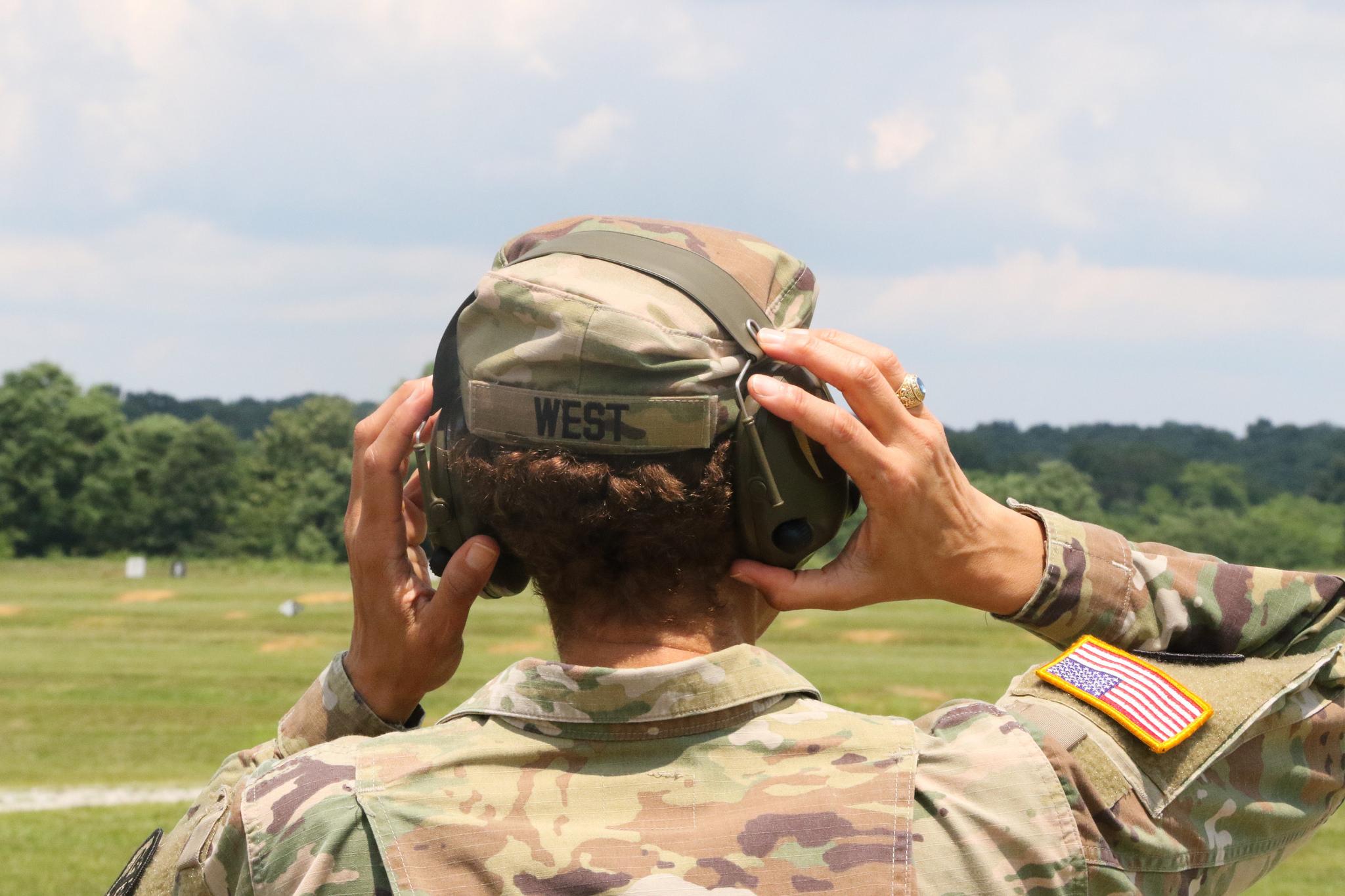 Lt. Gen. Nadja Y. West visits CST