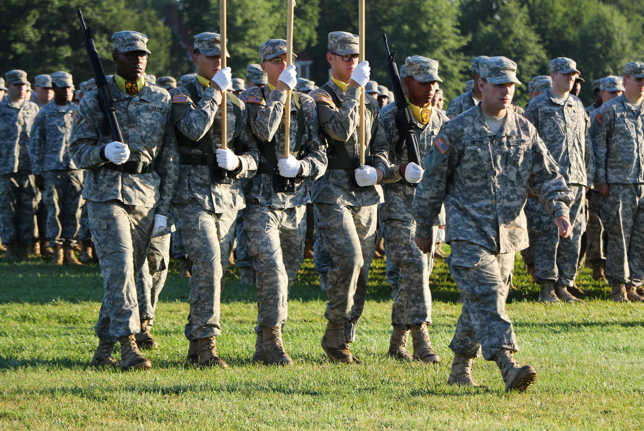 Basic Camp, 4th Regiment says farewell to Fort Knox