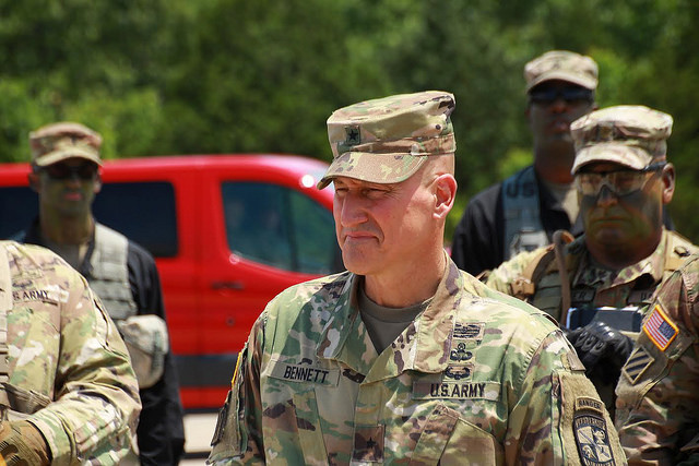 General validates Cadre for Basic Camp FTX