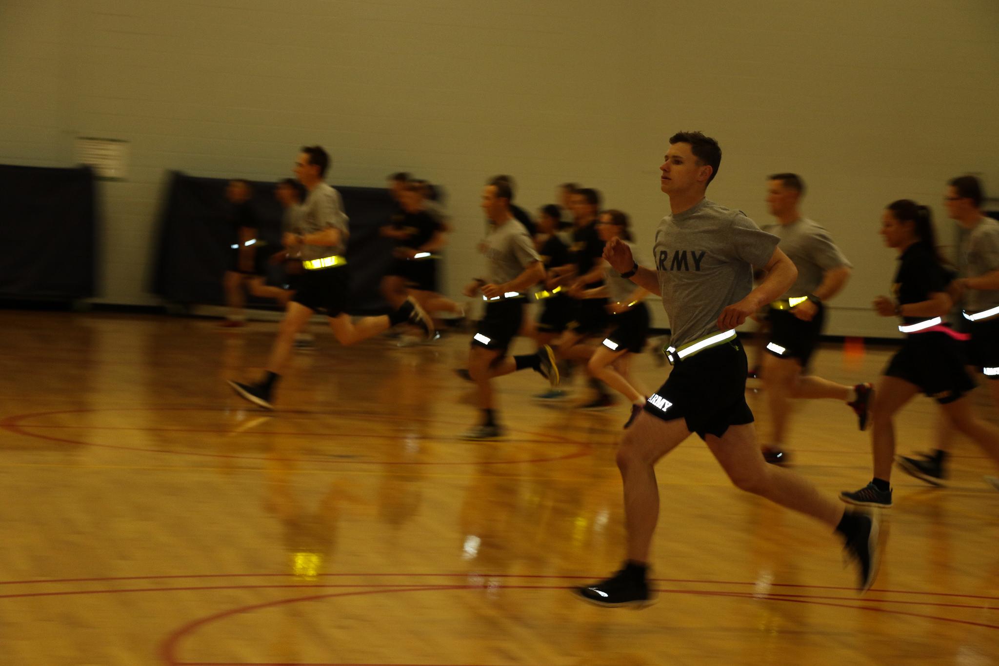Cadets meet Army standard