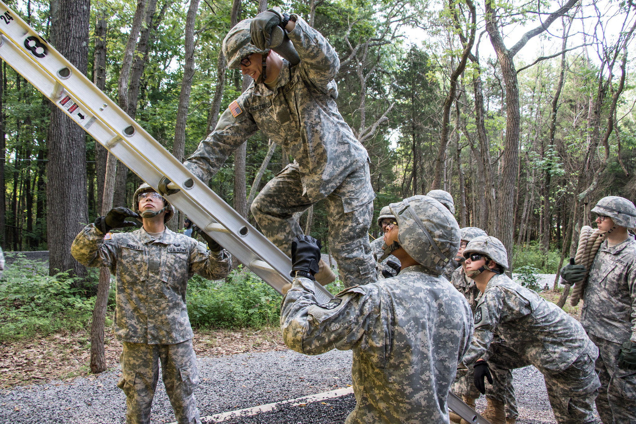 Cadets learn strengths and weaknesses