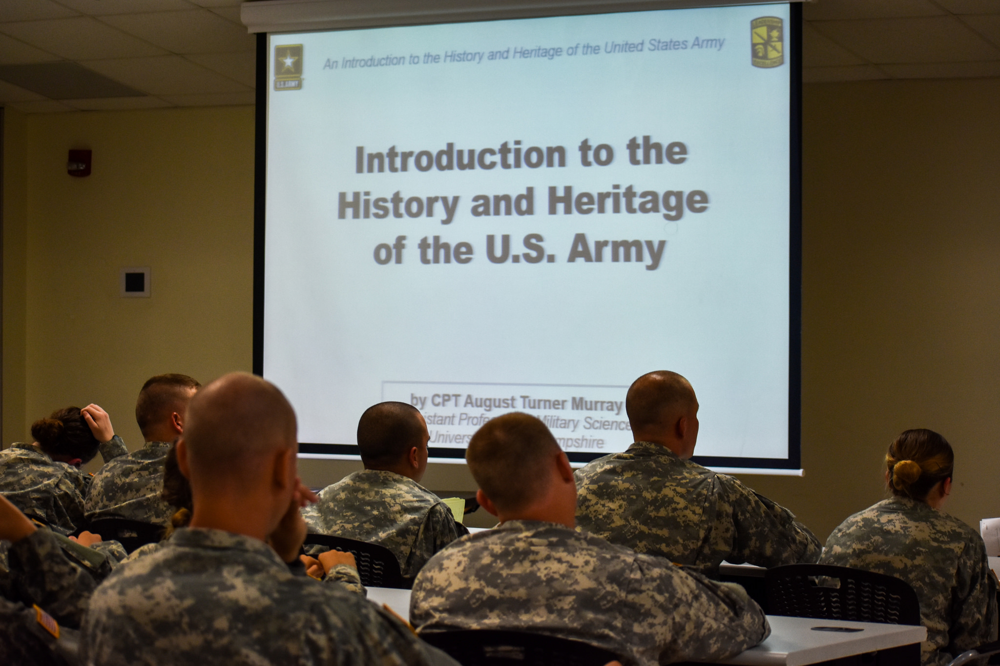 Army History shaping Cadets' minds