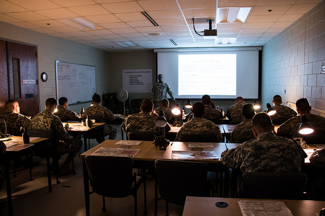 Cadets Learn to Successfully Locate and Engage the Enemy