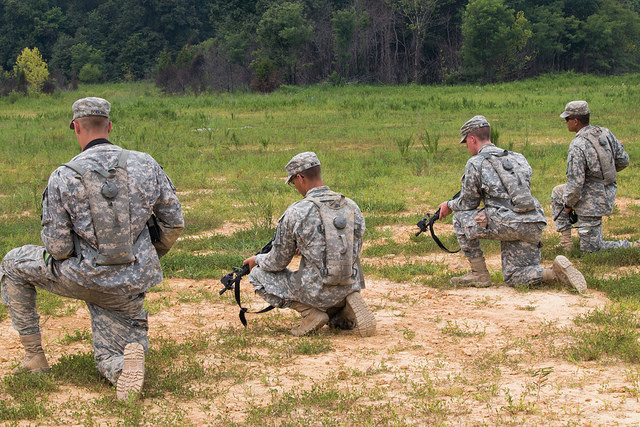 Squad Battle Drills important for all branches