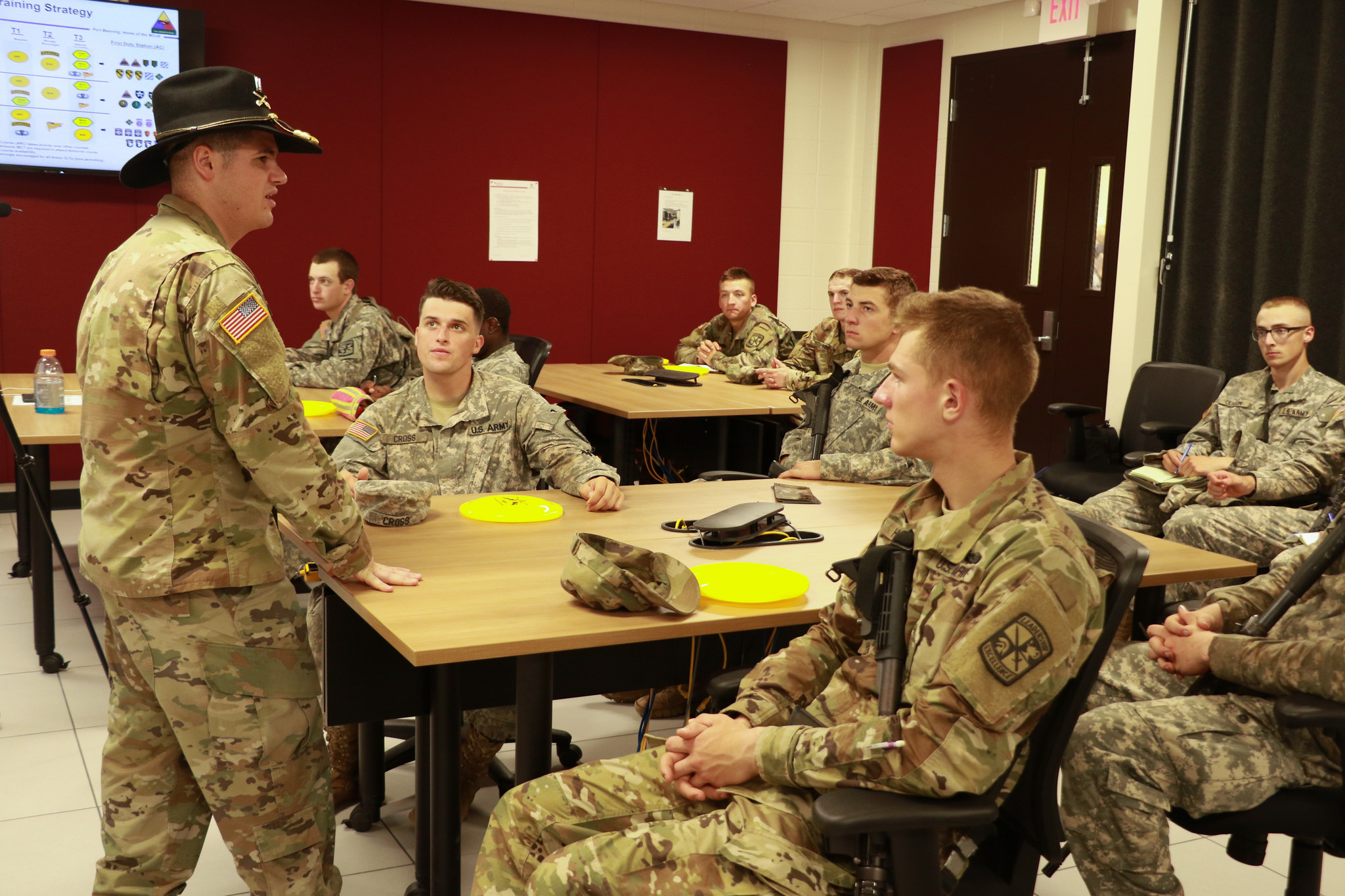 Cadets explore Army branches