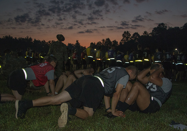 Rise and Grind, Cadets: APFT