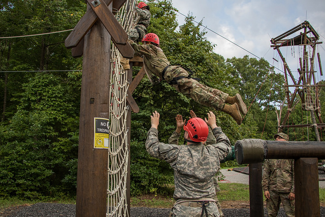 "Putting the ""Us"" in Trust Fall: Confidence Course"