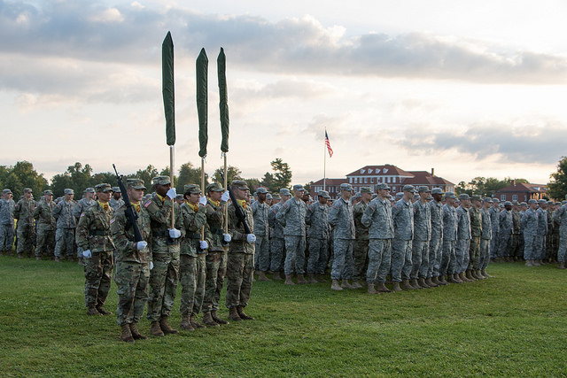 Together We Thrive: Fifth Regiment, Advanced Camp Graduation