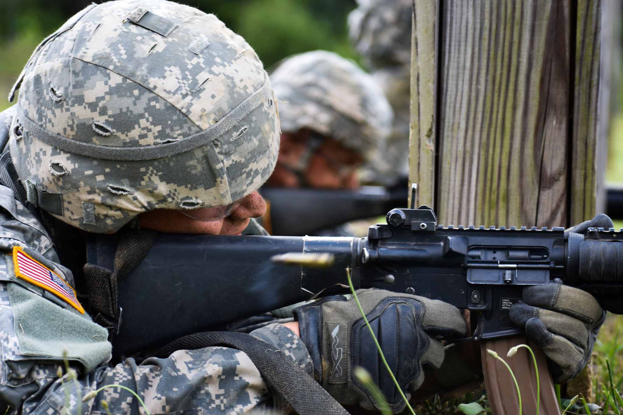 """""""Cover me"""", Cadets get down with tactics"""