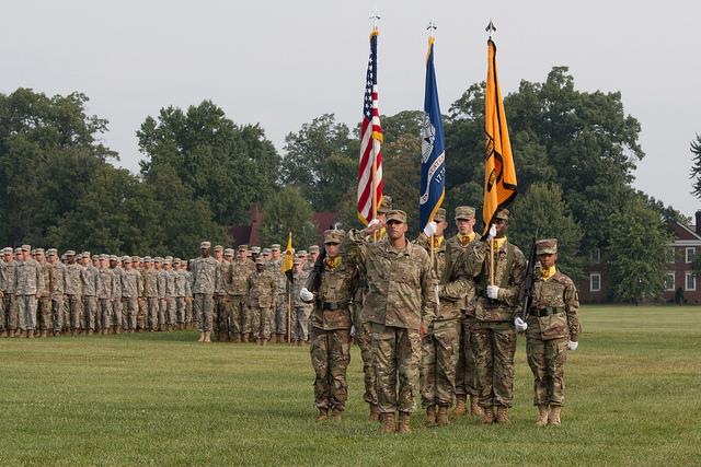 556 Cadets, 94 Cadre, 9 RECONDO, 12 Regiment Awards: 9th Regiment, Advanced Camp Graduates