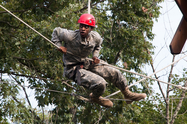 8th Regiment, Basic Camp Cadets tackle last training exercise