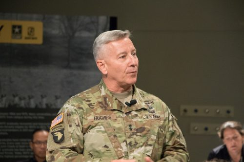 Maj. Gen. Christopher Hughes reflections on his time at Cadet Command