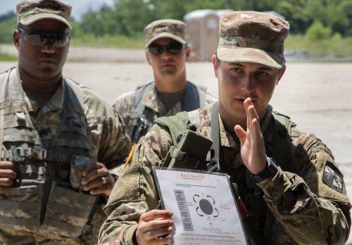 Cadets Prepare for Squad Battle Drill