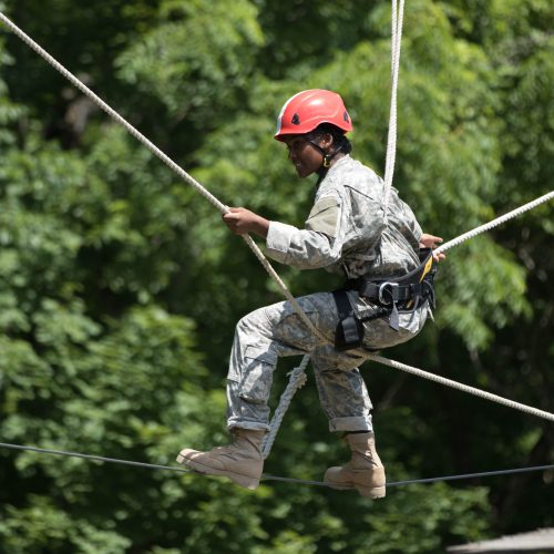 Cadets Develop Confidence in Gear, Battle Buddies