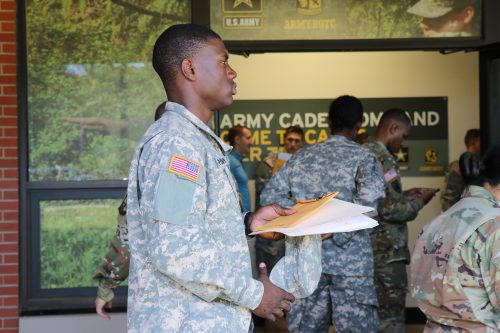 1st Regiment Basic Camp Goes Through In-Processing