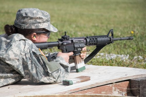 Cadets Pop Out to Qualification Range