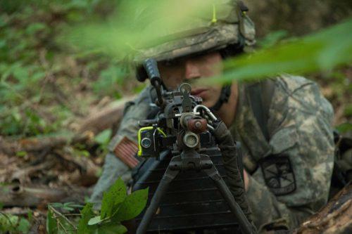 9th Regt., Advanced Camp Learns a Valuable Lesson:  Don't Rush the Machine Gun