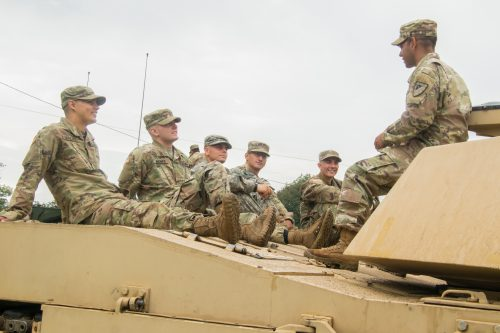 The Army's Moving Parts
