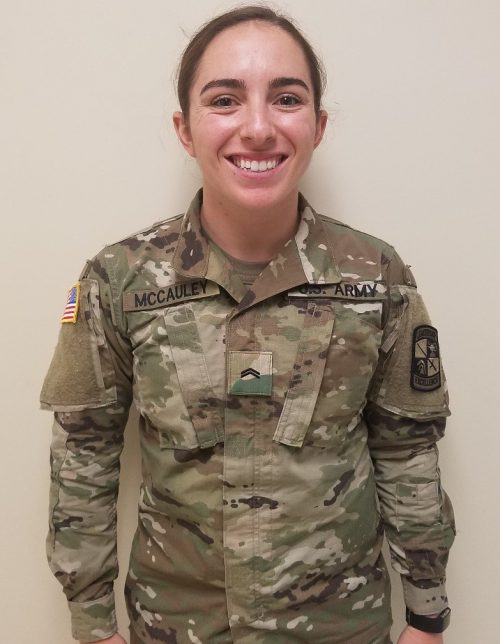 Cadet of the Week: Kellie A. McCauley