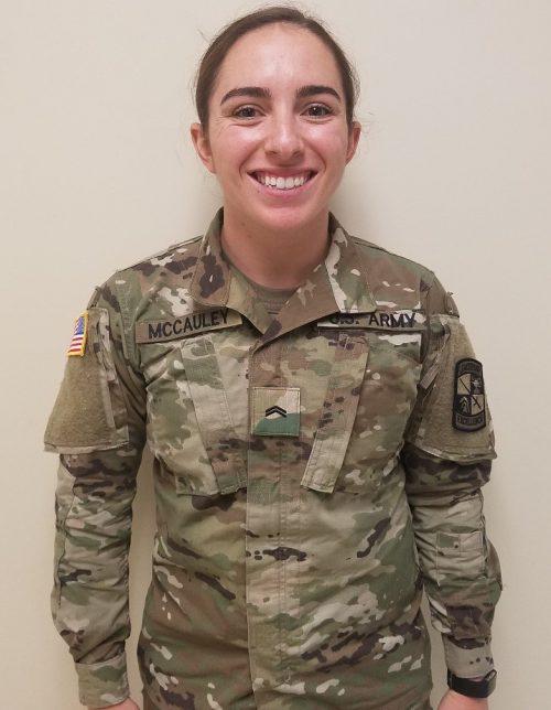 Cadet of the Week: Kellie A. McCauley