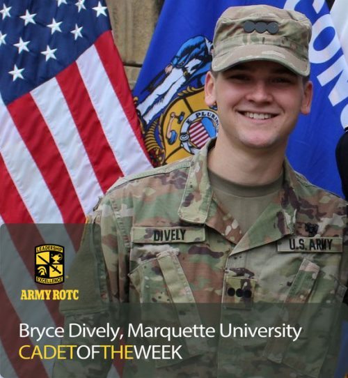 Cadet of the Week: Bryce Dively