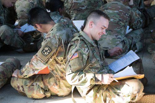 1st Regiment Advanced Camp Inprocessing