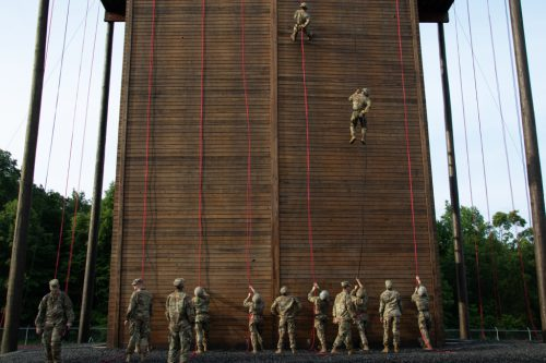 Learning the Ropes: 1st Regiment Rappels