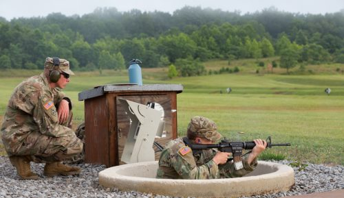 Rain? Hooah! : Weapons Qualification
