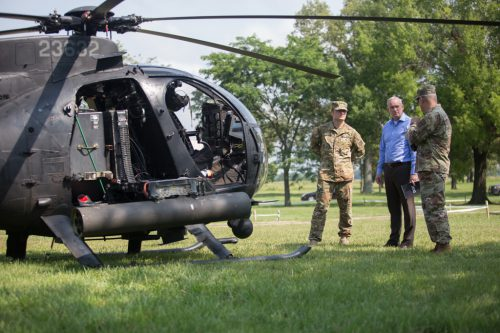 Assistant Secretary of the Army visits Fort Knox