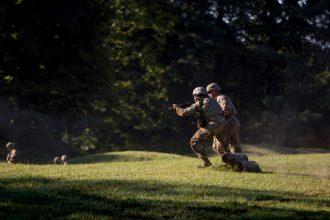 Cadet runs with Cadre