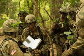 Cadets plan for an ambush.