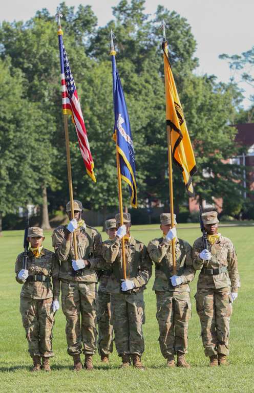 Cadets from 2nd Regiment Graduate Basic Camp