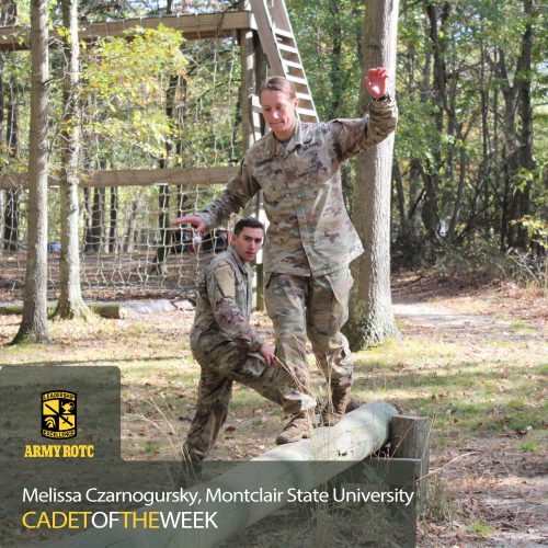Cadet Of The Week: Melissa Czarnogursky