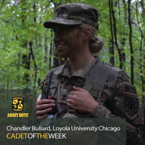 Cadet Of The Week: Chandler Bullard