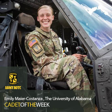 Cadet Of The Week: Emily Maier – Costanza