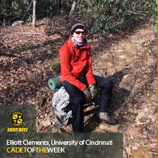 Cadet Of The Week: Elliott Clements